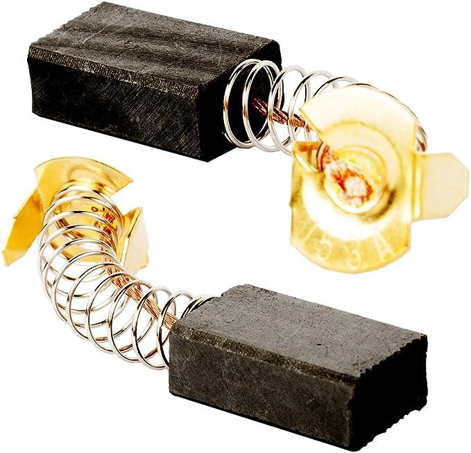 sourcingmap/® 5 paires 40 x 17 x 13 x 6mm pour balai charbon moteur Perceuse /électrique