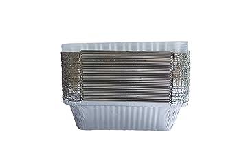 Paradox - Juego de 30 recipientes desechables de aluminio, para barbacoa, fiesta, comida