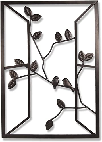 Plastec WD201DB Open Window Dark Bronze Wall Decor