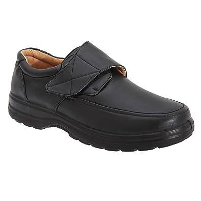 Smart Uns Herren Freizeit Schuhe mit Klettverschluss