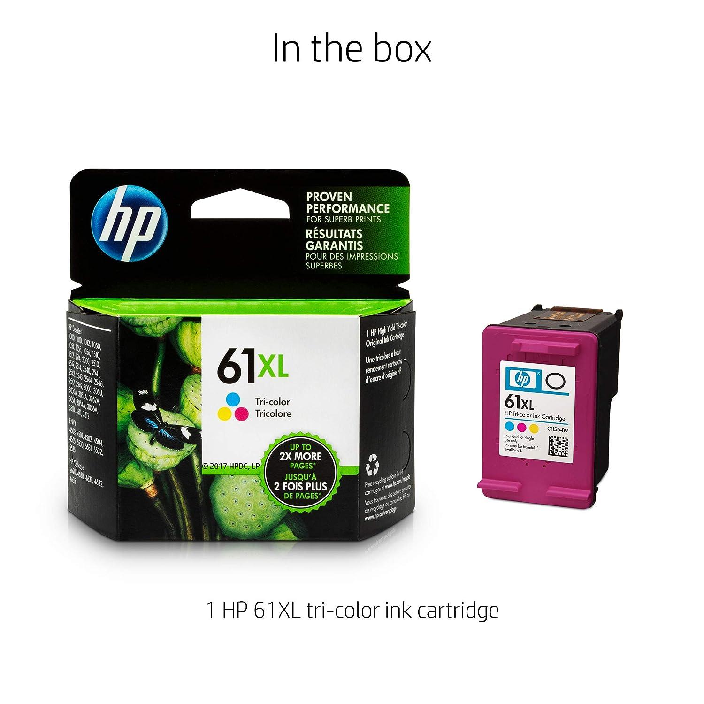 HP 61XL Tri-Color - Cartucho de Tinta para impresoras (Cian ...