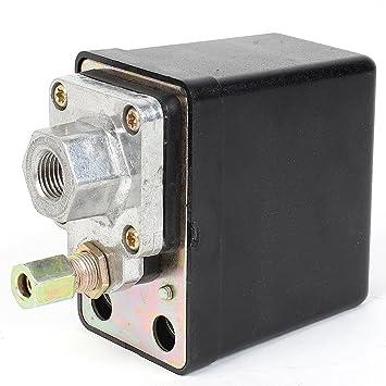 De un puerto 175 PSI compresor de aire del interruptor de presión de la válvula de control: Amazon.es