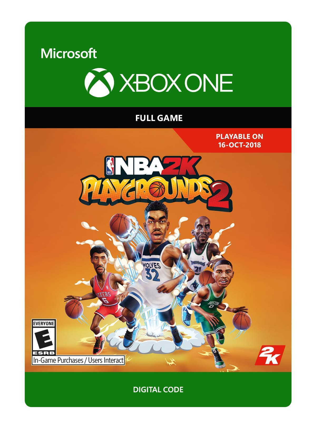 NBA 2K Playgrounds 2 (Pre-Purchase/Launch Day) - Xbox One [Digital Code]