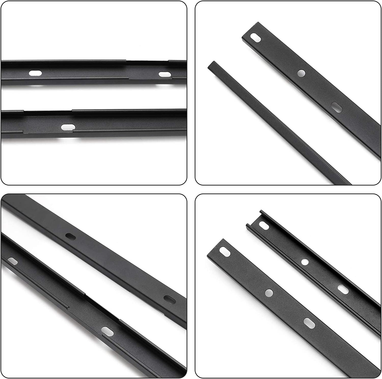 Modifying Factory Style Crossbars Aluminum Roof Racks Cross Bars /& Side Rails C Channel Combo Kit Cargo Luggage Carrier for 2009-2017 Chevy Chevrolet Traverse