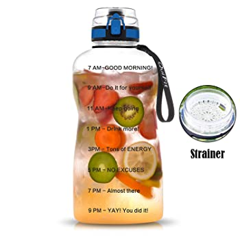 QuiFit Fruit Infused Water Bottle