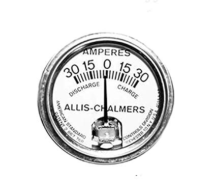 Amazon Com Rtp Allis Chalmers Tractors Ammeter 30 30 Style White