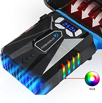 TECHSIDE Rapid Vacuum Cooler Notebook | Rgb Led | Ventilador de ...