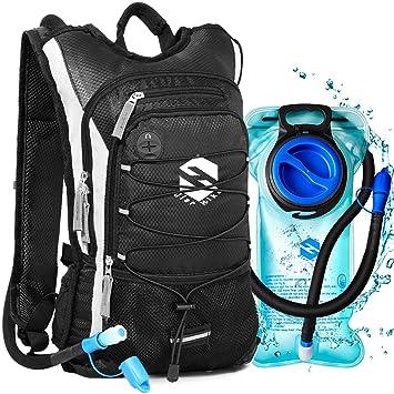 Amazon.com: Mochila de hidratación OlarHike con bolsa de 2 l ...