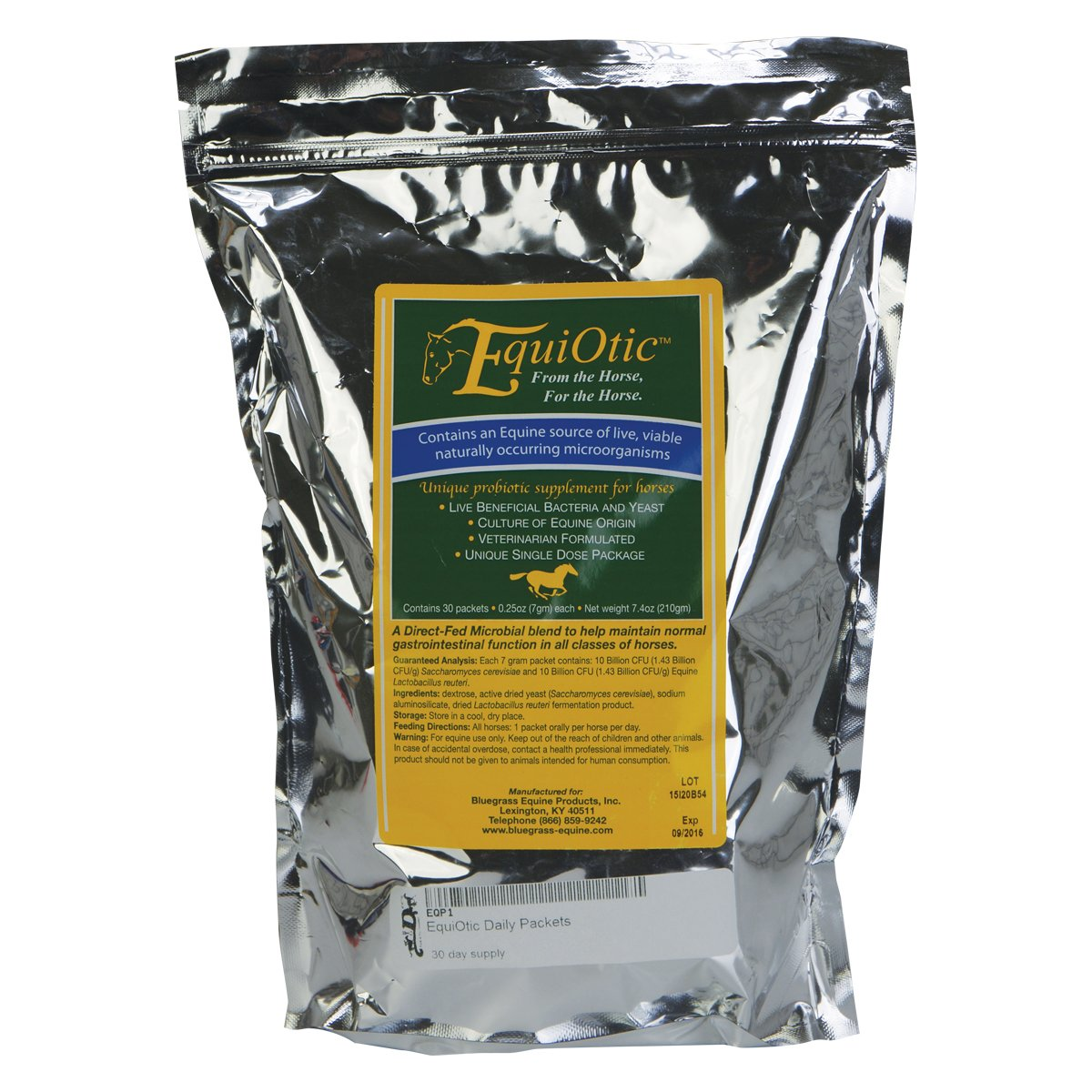Equiotic Probiotic Supplement Daily Packets