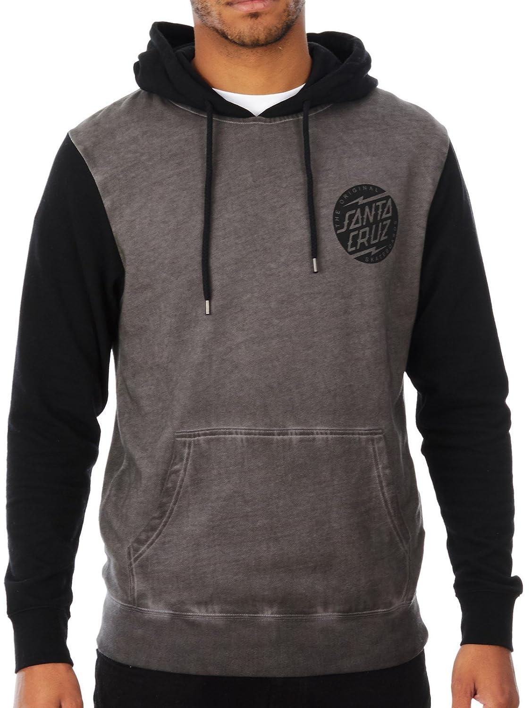 Santa Cruz Sweatshirt Hood Strike GR Grey