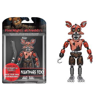Action Figure: FNAF: Nightmare Foxy: Juguetes y juegos