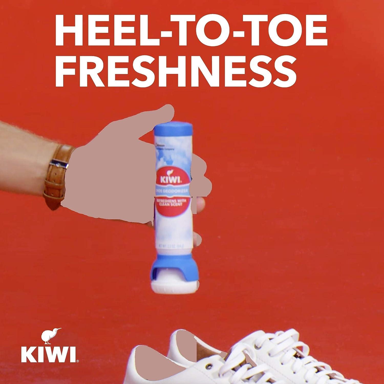 Kiwi Shoe Freshener Aerosol, 3 Pack