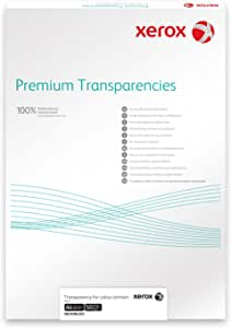 Xerox 003R98220 Premium - Paquete de transparencias negro/blanco ...