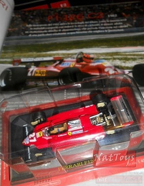 EDICOLA Ferrari Fabbri Collection F126 C2 Villeneuve MODELLINO DIE ...