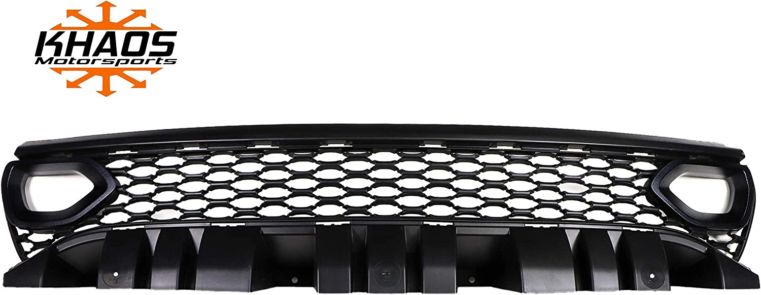 Khaos Motorsports Color Matched Upper Grill Intake Bezel Indigo Blue PBM Dodge Charger 2019+ fits