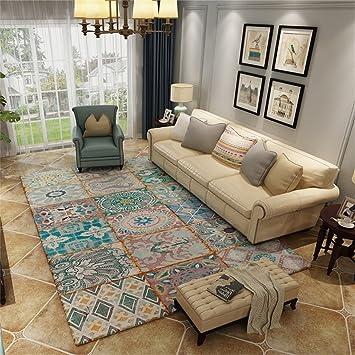 HOME UK  European American Style Wohnzimmer Schlafzimmer Bedside  Rechteckige Mode Persönlichkeit American Village Pastoral Retro