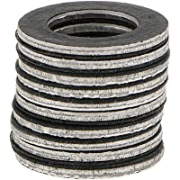 HOMYL 10pcs Oil Drain Plug Crush Washer Gaskets for Toyota 90430-12031