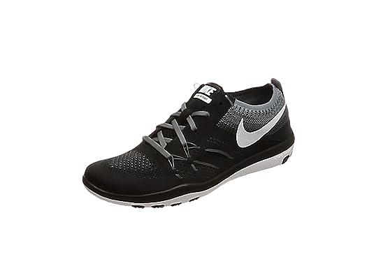 Nike W Free TR Focus Flyknit, Zapatillas de Senderismo para Mujer, Negro (Black