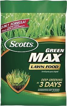 Scotts Green Max Iron Supplement Lawn Fertilizer