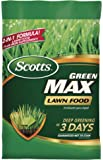 Scotts Green Max Lawn Food - Lawn Fertilizer Plus Iron Supplement Builds Thick, Green Lawns - Deep Greening in 3 Days…