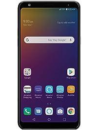 LG Stylo 5 with Alexa Push-to-Talk – Unlocked – 32 GB – Black (US Warranty)