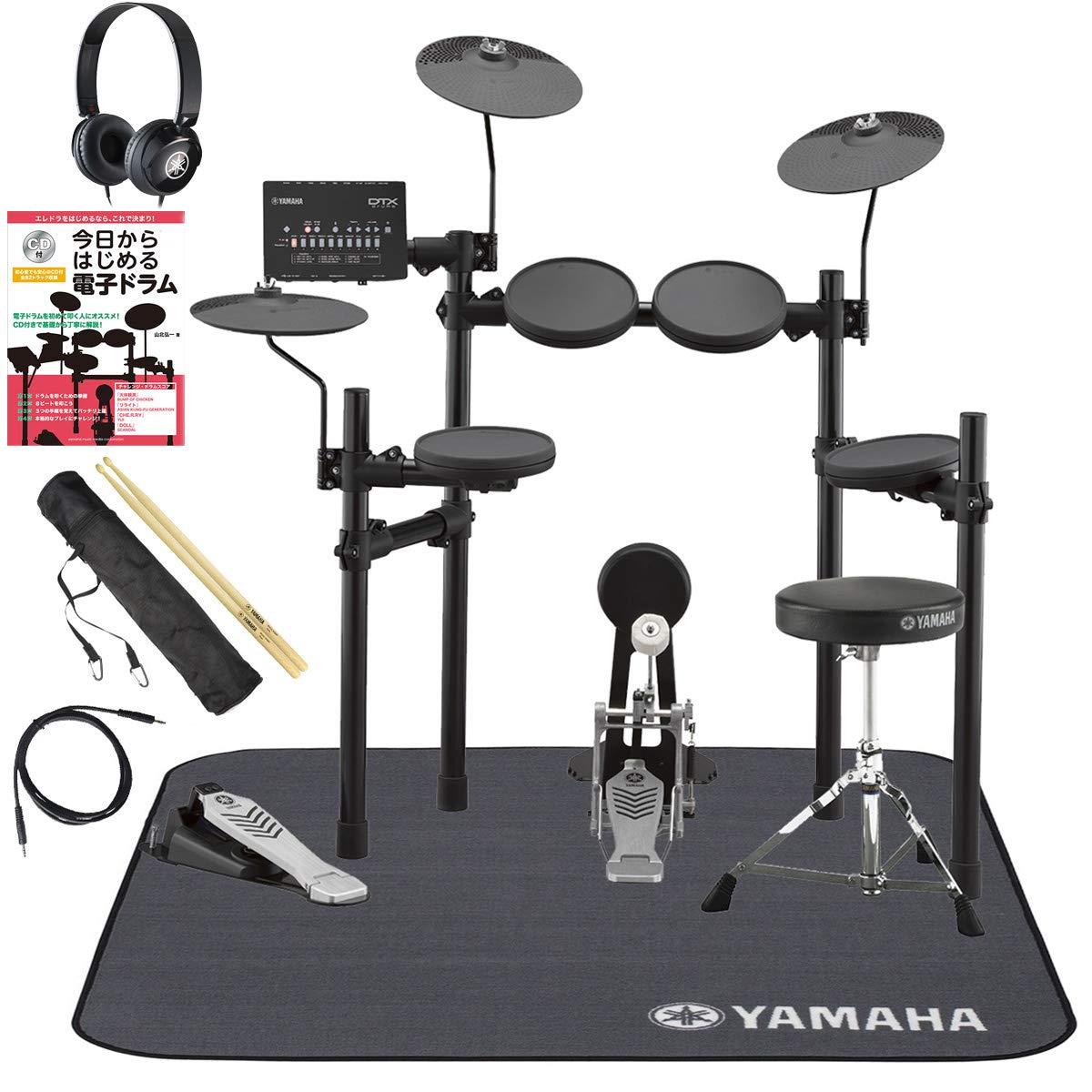 YAMAHA DTX432KS ヤマハ純正スターターパックと電子ドラム教本セット   B07GCGQJL8