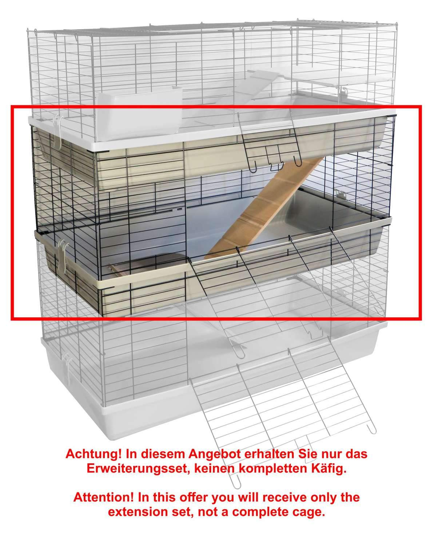 Kit de ampliación para de conejos y Cobayas jaula Grenada 100 ...