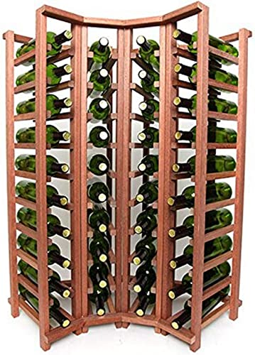 Wine Racks Wineracks 813-070-2400-3975 Prestige Cellar Series 40 Bottle Curved Corner Base