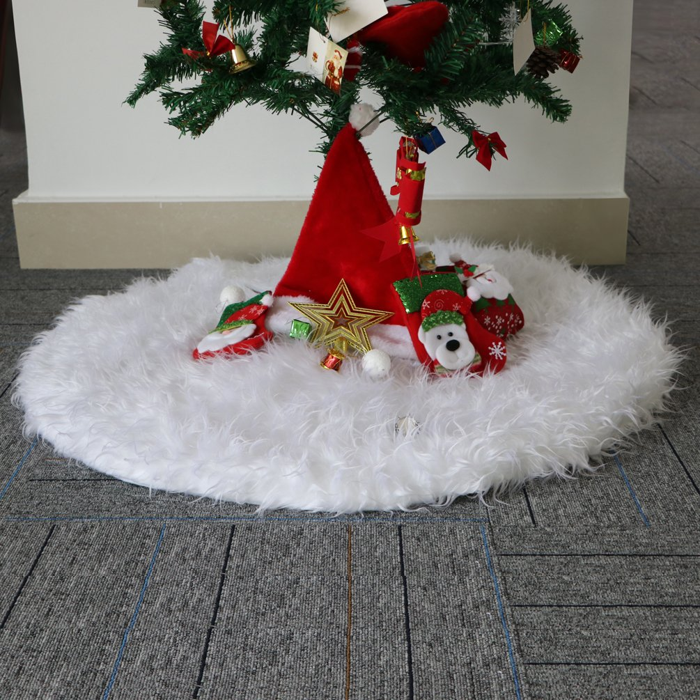 Christmas Tree Skirt,New Year Party Supply,Christmas Decoration Holiday Party Supplies 35inch