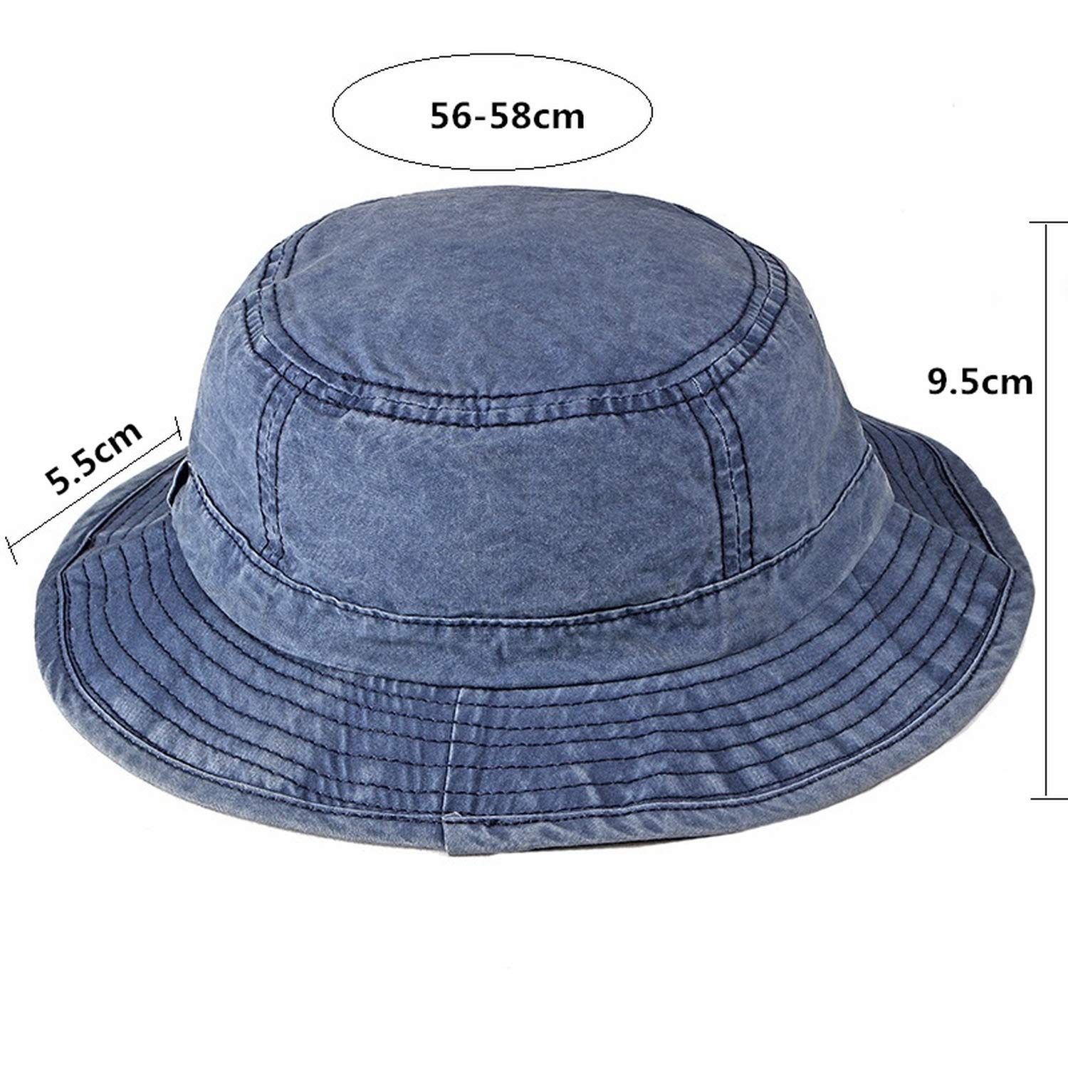 Washed Bucket Hat for Men Women Outdoor Sun Visor Hats Bone Fishing Hat  Fisherman Army Green at Amazon Women s Clothing store  c0c22c65f086