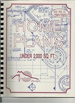 Home plans under 2 000 sq ft sunridge designs amazon for House plans under 200 000