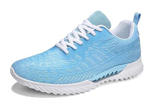 Gaatpot Unisex Zapatillas para Correr Deportivo Fitness Sneakers ...