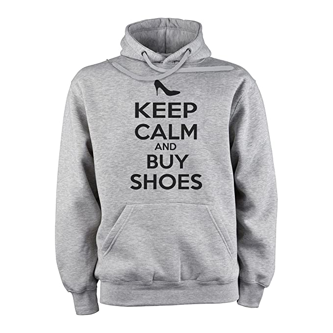 Keep Callm And Buy Shoes Turbo Edition XXL Unisex Hoodie