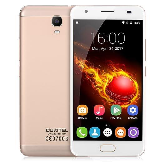 3 opinioni per OUKITEL K6000 Plus Smartphone 4G Android 7.0 (MT6750T Octa Core 1.5GHz, 5.5''