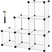 SONGMICS Storage Cube Organizer DIY Closet Cabinet Chests Space-Saving