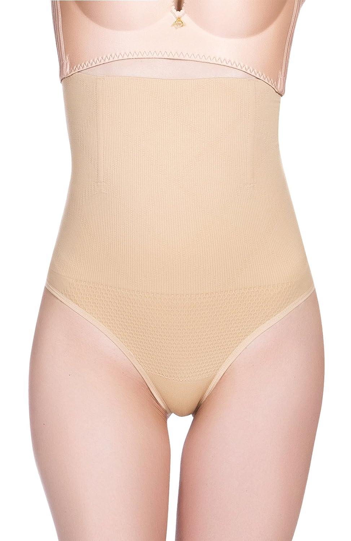 Aivtalk High Waist Tummy Control Thong Breathable Butt Lifter Shapewear