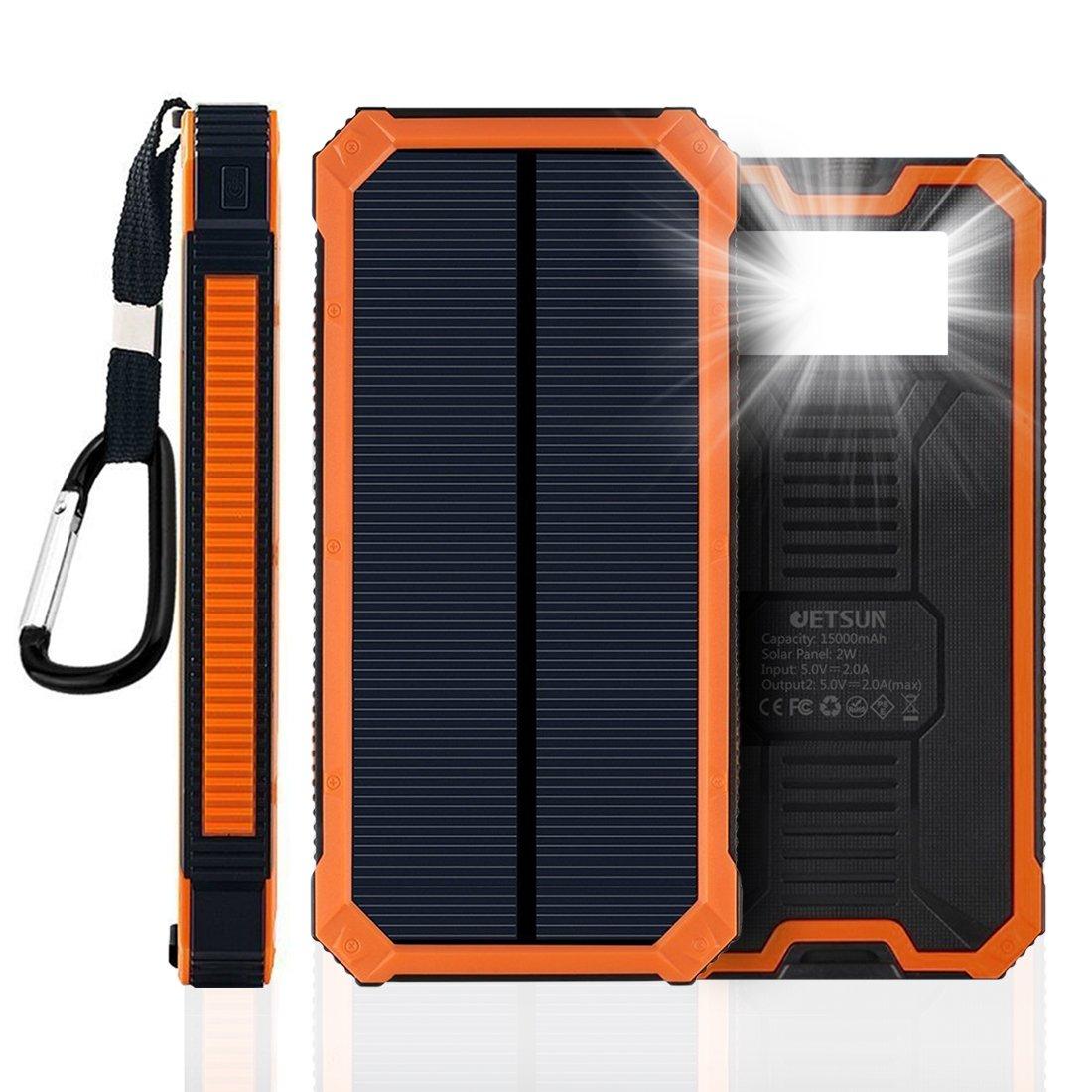 JETSUN Solar Charger