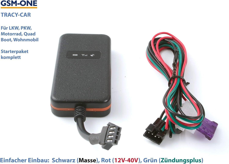 EU-SIM Portal Anschliessen fertig! App fertig vorbereitet GPS Tracker Tracy-CAR : KOMPLETTPAKET zum Sofortstart inkl