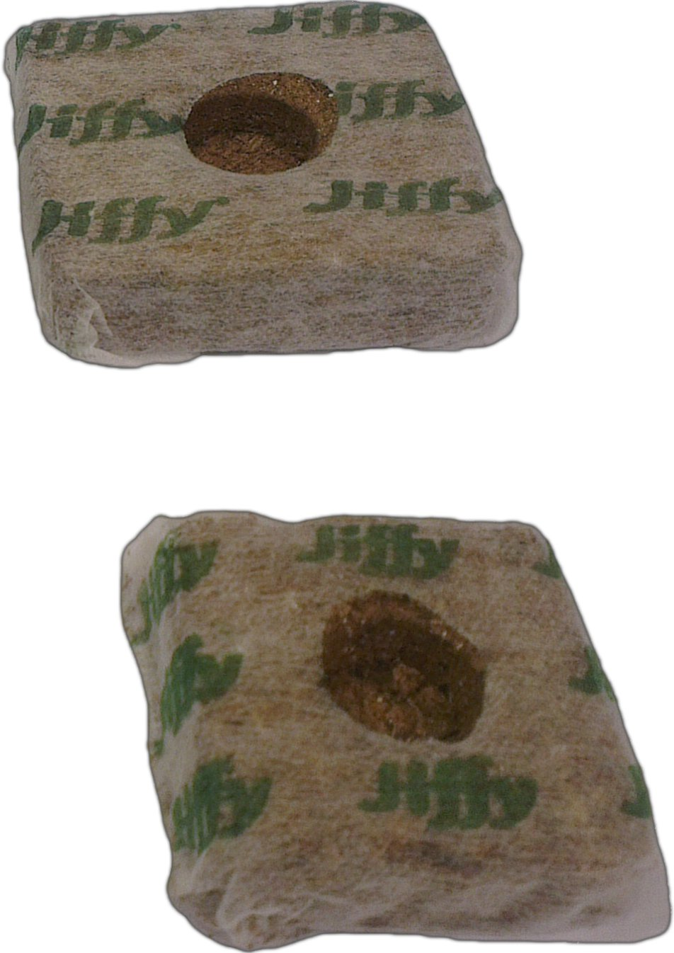 Elixir Gardens ® Jiffy Grow Blocks | 50mm x 50mm | x 10