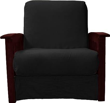 Terrific Amazon Com Brentwood Mission Style Perfect Sit Sleep Inzonedesignstudio Interior Chair Design Inzonedesignstudiocom