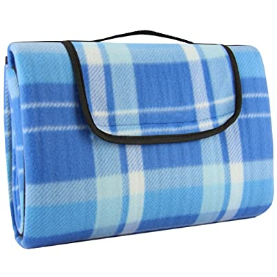 Crotali Waterproof Picnic Blanket Anti-Slip-Layers Portable Light-Weight and Perfect for Camping , Beach , Concerts and Travel: Sports & Outdoors