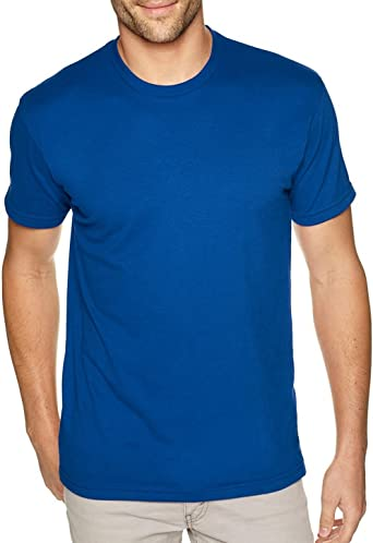 Cool Blue 3XL Next Level Mens Premium Fitted Short-Sleeve Crew