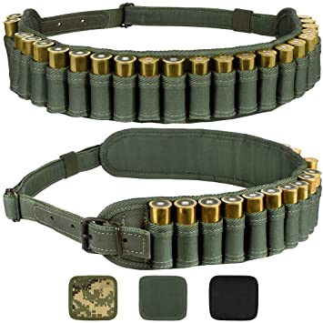 4X Tactical 4 Round 12//16//20GA Gauge Shotgun Shell Holder Ammo Carrier Pouch Tan