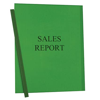 amazon com c line report covers with binding bars green vinyl