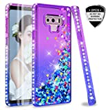 Note 9 Glitter Case with 3D PET Screen Protector [2