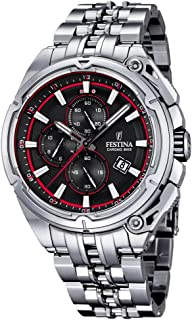 Festina F16881-8 Mens 2015 Chrono Bike Tour De France Silver Watch