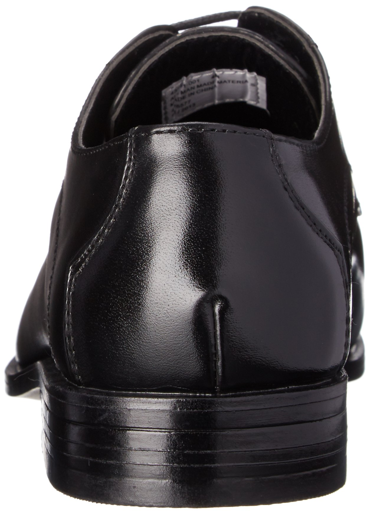 Stacy Adams Carmichael Plain Toe Lace-up Uniform Oxford Dress Shoe (Little Kid/Big Kid),Black,4 M US Big Kid by STACY ADAMS (Image #2)