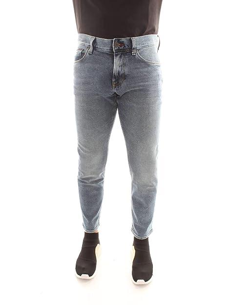 Tommy Hilfiger MW0MW08743 Pantalones Vaqueros Hombre: Amazon ...
