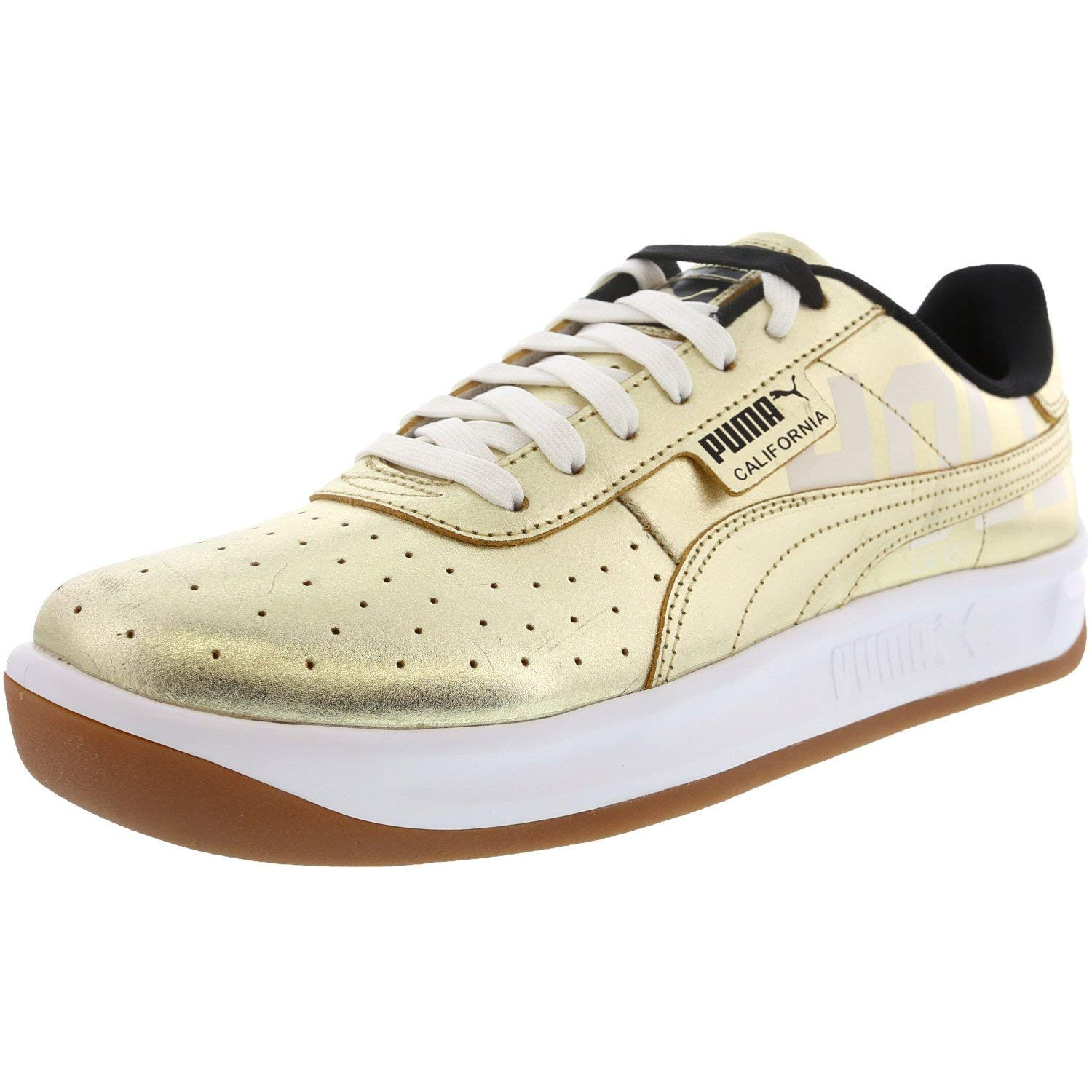 Puma Men's California Hollywood Team Gold/Black Ankle-High ...