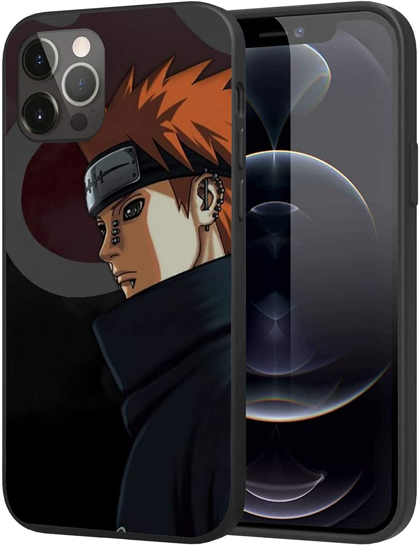 iPhone 12 Mini Case,Japanese Anime Case Plastic Cover for iPhone 12 Mini (Naruto-Akatsuki)